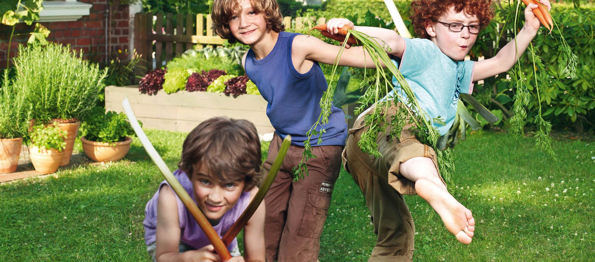 Perfekt für junges und frisches Gemüse